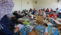 مدرسة أونروا في لبنان1- فرانس برس