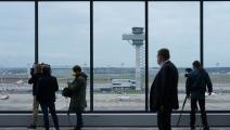 صحافيون في مطار برلين sean gallup/getty