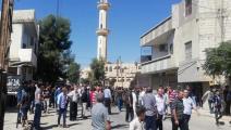 يواصل النظام السوري حصار بلدة كناكر (فيسبوك)