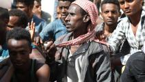 ظروف عيش غير لائقة (عبد الناصر علي صادق/ الأناضول)