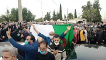 تشييع جثمان لخضر بورقعة (