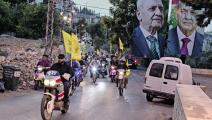 """تظاهرة لأنصار """"حزب الله"""" في محيط النبطية (25/ 10/ 2019): كلّ خارج ملعون ومنبوذ ومضروب (سام تارلينغ/ Getty)"""