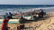 17 اعتداءً إسرائيلياً على الصيادين منذ بداية العام