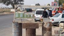 عند الحدود التونسية - الليبية (فتحي بلعيد/ فرانس برس)
