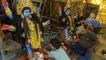عيد الأنوار (ديوالي) في الهند (نوح سيلام/ getty)