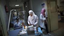 مستشفى في طرابلس- فرانس برس