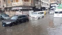 أمطار - الإسكندرية (فيسبوك)