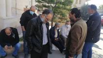 اعتصام معلمين فلسطينيين في بيت لحم (العربي الجديد)