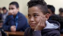 الحرب تركت آثاراً كبيرة على مدارس ليبيا قبل كورونا (عبد الله دوما/ فرانس برس)