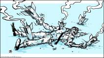كاريكاتير التطبيع / حجاج