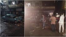 عاصفة في محافظة الدقهلية - مصر (فيسبوك)