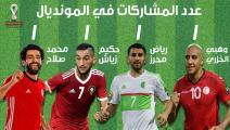 عام على مونديال قطر...نجوم عربية تحلم الجماهير بتواجدها