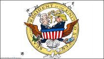 كاريكاتير بايدن ترامب / حجاج