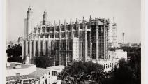 منظر لموقع كنيسة Sacré-Cœur في الدار البيضاء ، 1952 ، المحفوظات الوطنية
