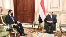 عبد ربه منصور هادي ومعين عبد الملك - اليمن - تويتر