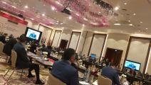 اجتماعات النواب الليبيين في طنجة المغربية (تويتر)