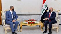 سياسة/فؤاد حسين وجيمس كلفيري/(تويتر)