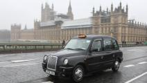 سيارات الأجرة السوداء في بريطانيا/ Getty