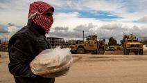 خبز سورية (دليل سليمان/فرانس برس)