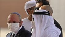 وفد إسرائيلي في أبوظبي/ فرانس برس