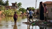 فيضانات السودان- الأناضول