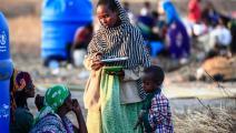لاجئون من تيغراي