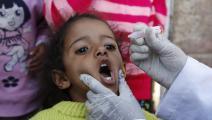 تطعيم ضد شلل الأطفال في صنعاء- الأناضول