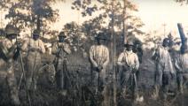 من العمال الذين بنوا جامعة كليمسون، الصورة عرضتها توماس في محاضرة سابقة