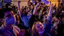 فيلادلفيا تبتهج بعد حسم بنسلفانيا لنتيجة الانتخابات لصالح بايدن