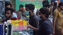 متجر هواتف نقالة في وسط العاصمة الباكستانية إسلام آباد