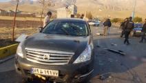 سيارة محسن فخري زادة - إيران - تويتر