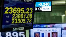 متعاملون بسوق طوكيو للأوراق المالية