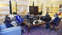 رئيس الحكومة ووزير ماليته اجتمعا اليوم مع ممثلي شركات التدقيق الجنائي (دالاتي نهرا)
