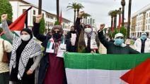 احتجاج ضد التطبيع في الرباط/ الأناضول