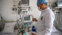 في أحد مستشفيات المغرب (فاضل سنا/ فرانس برس)