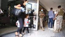 الأم وطفلتاها متشوقات لرؤية العائلة (حسين بيضون)