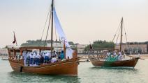 مهرجان المحامل التقليدية في الدوحة (معتصم الناصر)