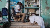 قلق لدى السودانيين من ارتفاع السرقات والنهب (ياسويوشي شيبا/ فرانس برس)
