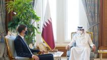 أمير قطر/جاريد كوشنر-قنا