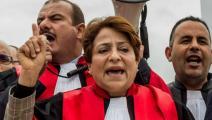 إضراب القضاة- تونس (فيسبوك)