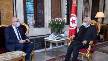 لقاء رئيس مجلس نوّاب الشّعب التونسي مع وزير الصحة (فيسبوك)