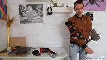 اليد الاصطناعية التي ابتكرها حمزة (العربي الجديد)