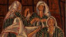 """""""في سجن النساء""""، إنجي أفلاطون، 1960"""
