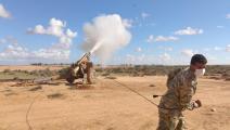 تدريبات على الأسلحة الثقيلة - الجيش الليبي - الجيش التركي - الأناضول
