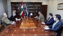 لبنان: مفاوضات ترسيم الحدود (الرئاسة اللبنانية)