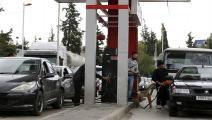 محطة وقود في دمشق/ فرانس برس