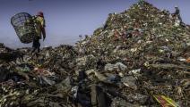 بلاستيك في بالي (جوناس غرايتزر/ Getty)