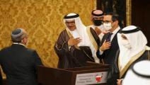 زيارة وفد الاحتلال الإسرائيلي للبحرين / فرانس برس