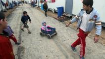 مخيم النبي يونس قرب بغداد- فرانس برس
