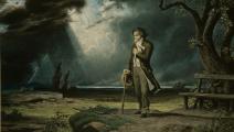 بيتهوفن شاباً، رسمة من نهايات القرن الثامن عشر (Getty) 54 characters